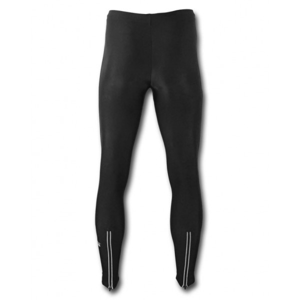 Athletic trousers GOVERLA with reflective zips