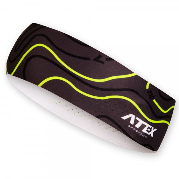 Athletic headband ORIENTEERING black