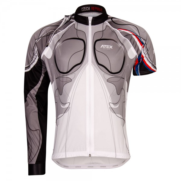 Jersey EVERETT TOUR BIATEX BW with detachable sleeves