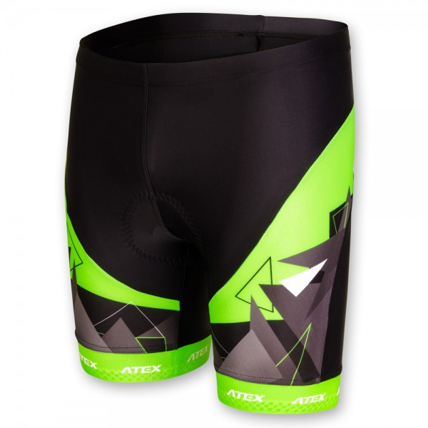 Children´s cycling shorts MIK green