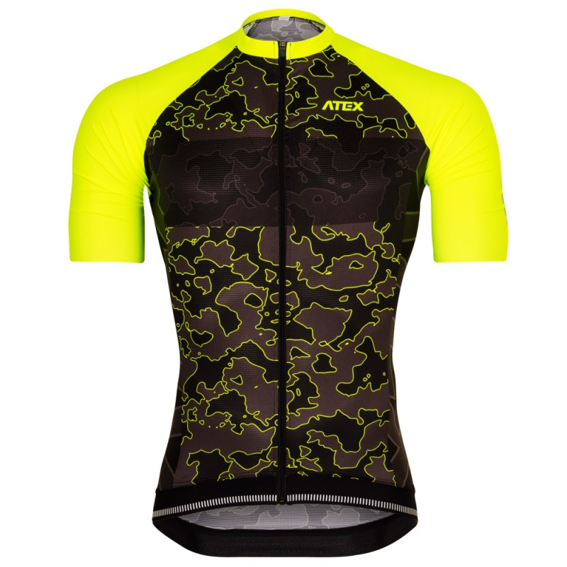 New Sugoi Lone Survivor Men Cycling Jersey Bike SS Top Military Army Camouflage