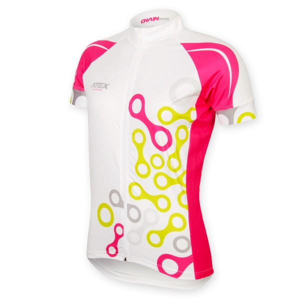 Women's jersey ELEMENT white-pink