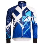 Running jacket CROSS Blue