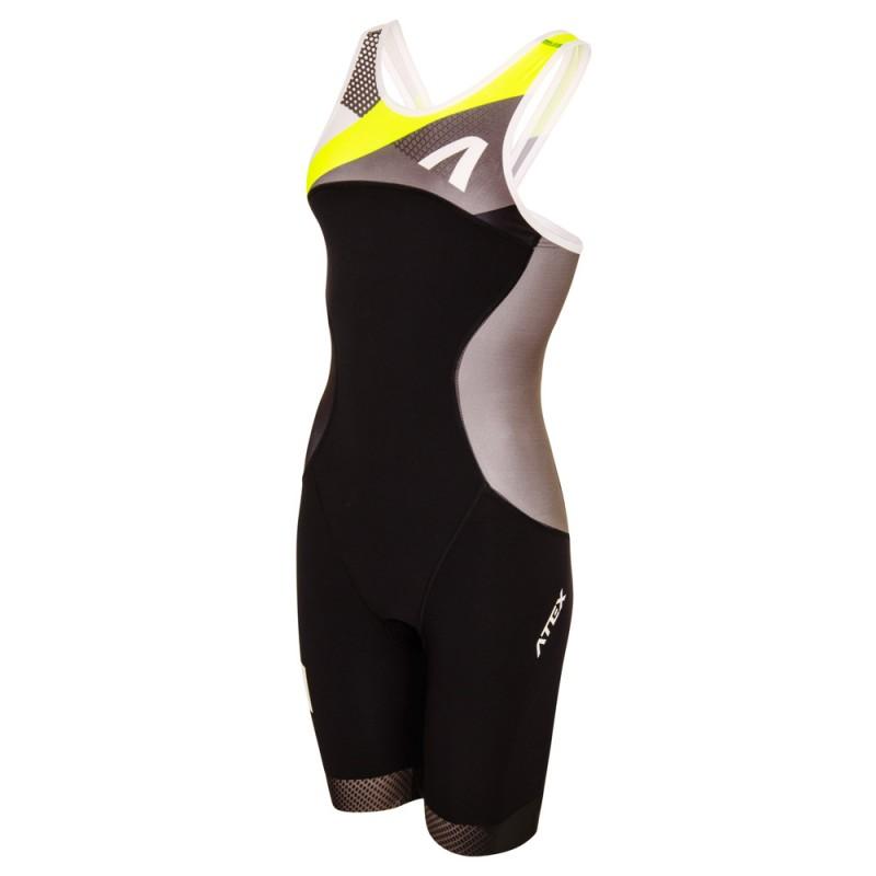 Women's triathlon suit REVOLT yellow